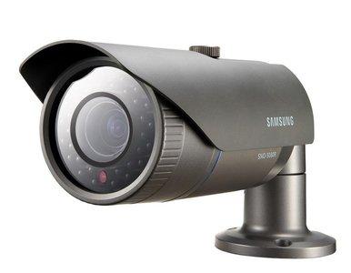 Samsung SNO-5080RP weerbestendige IP bullet camera met IR led's