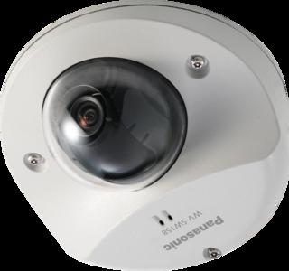 Panasonic WV-SW158 HD buitencamera met microfoon